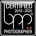 bpp certified Photographer Label